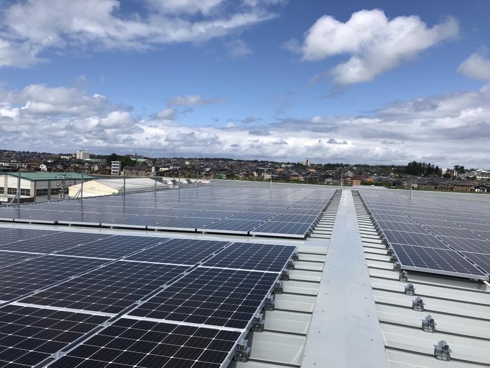 太陽光発電設備工事 金沢市某工場